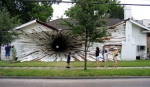 Architectural Art- Tunnel House